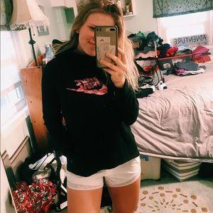 Black Nike Camo Sweatshirt